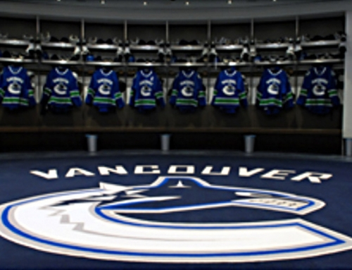 VANCOUVER CANUCKS – Dressing Room
